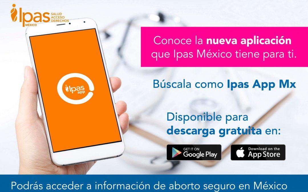 Ipas México lanza su nueva aplicación