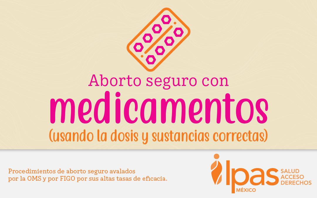 Aborto seguro con medicamentos.