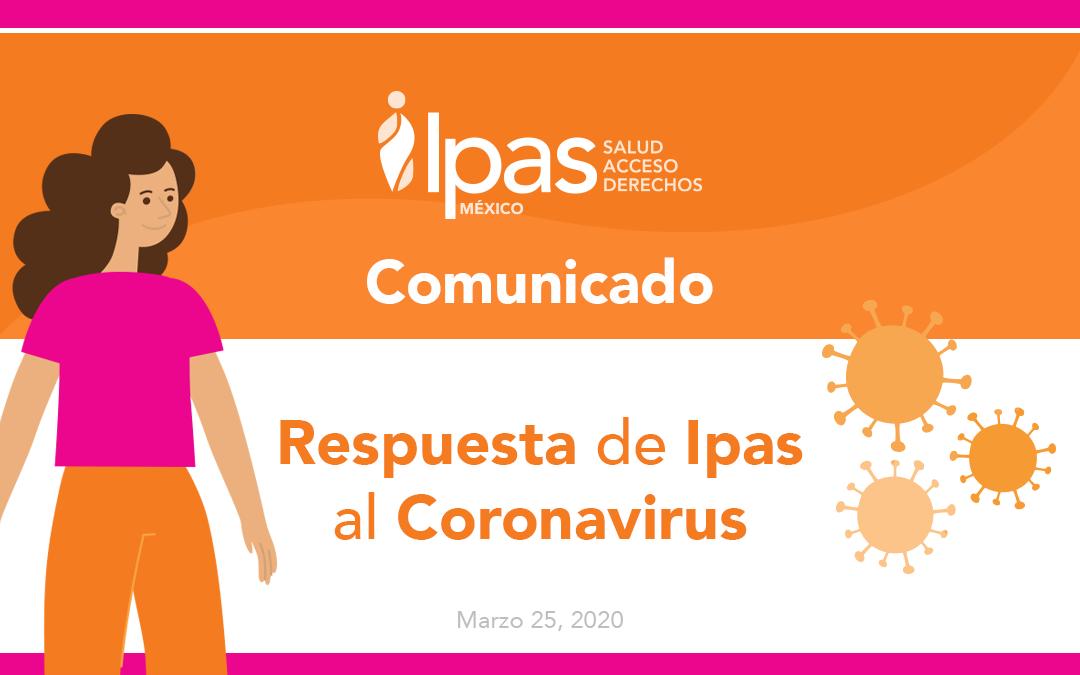 Respuesta de Ipas al Coronavirus