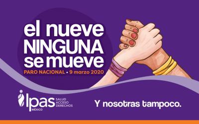 Ipas México también será parte de este gran paro nacional.
