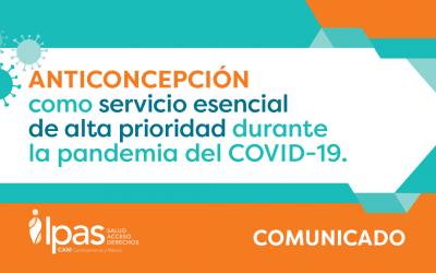 Anticoncepción como servicio esencial de alta prioridad durante la pandemia del COVID-19