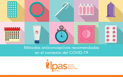 Métodos Anticonceptivos recomendados en el contexto del COVID-19
